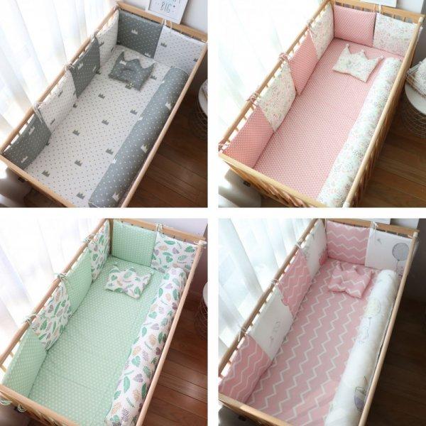 Мягкий бортик для кроватки