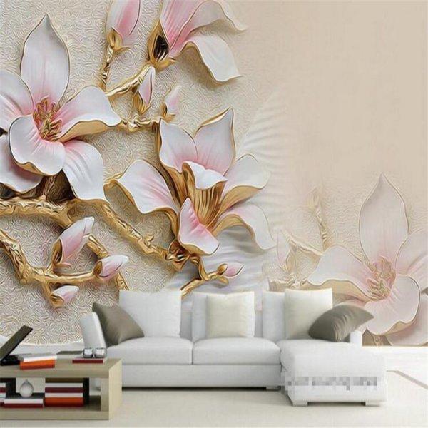 Золотые лилии от Li Ti MEi