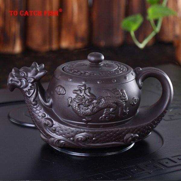 Керамический чайник Дракон от TO CATCH FISH