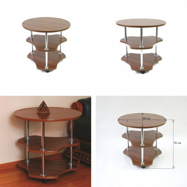 Круглый столик от Mingachev