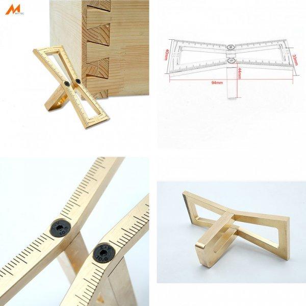 Шаблон ласточкин хвост из меди MC01311