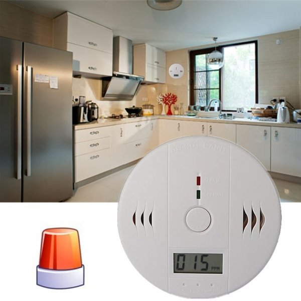 Датчик угарного газа для кухни Safurance