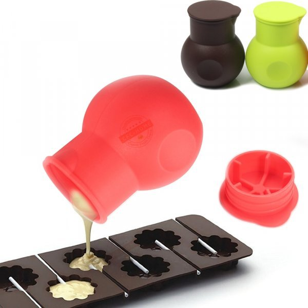 Горшочек с крышкой для шоколада и соусов от LEESEPH (3 цвета)
