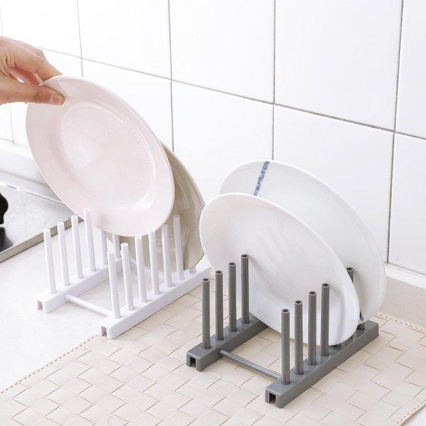 Пластиковый держатель для тарелок от LASPERAL (2 цвета)
