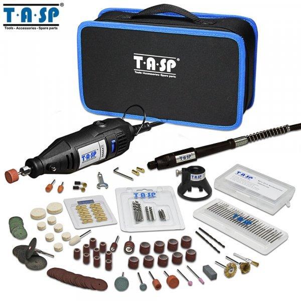 Дремель с набором насадок в сумке от TASP (130 Вт)