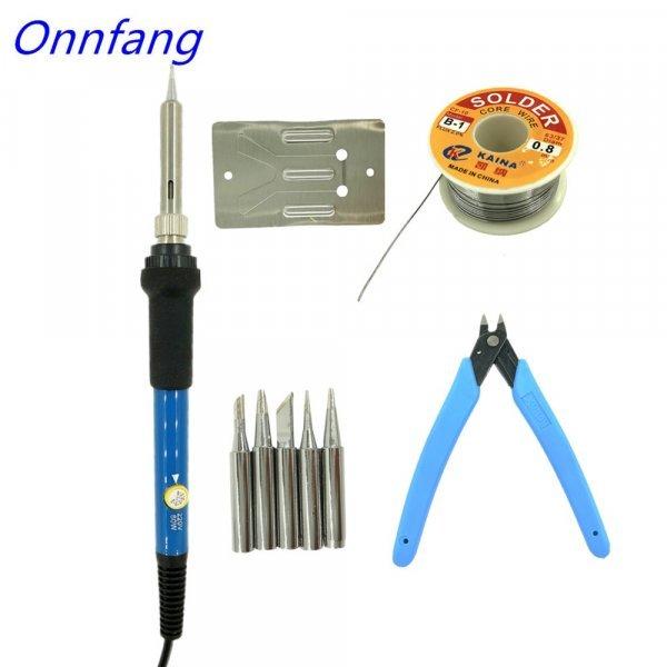 Электропаяльник с регулировкой температуры Onnfang