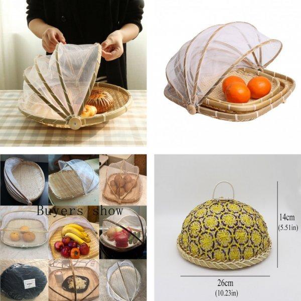 Корзина-хлебница для выпечки и фруктов Angelacoco ( 6 размеров)