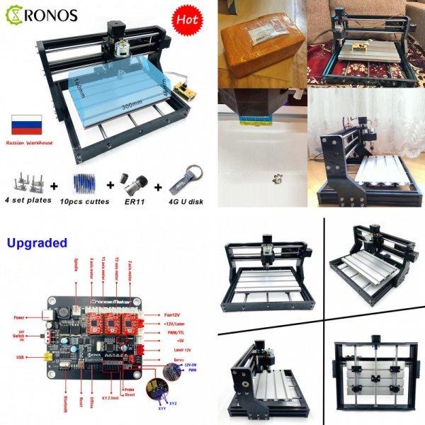 Фрезерный станок с ЧПУ от CRONOS (5 комплектаций)