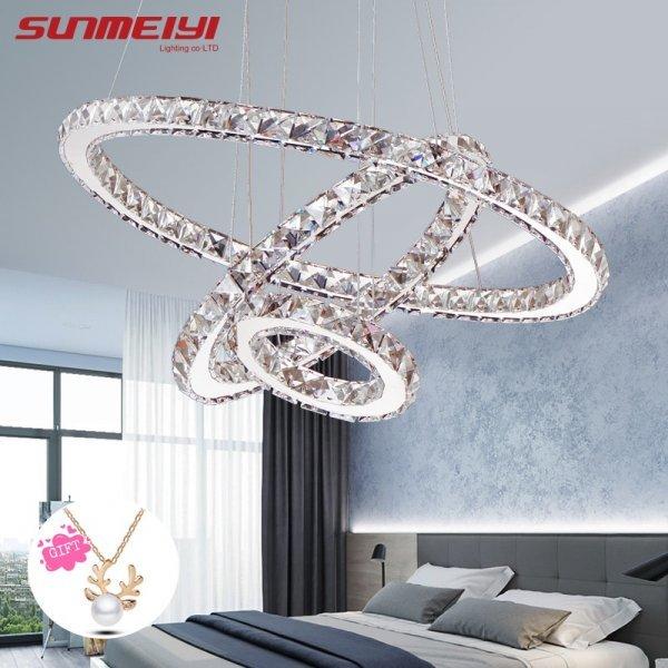 Кристальные кольца от SUNMEIYI (5 видов)