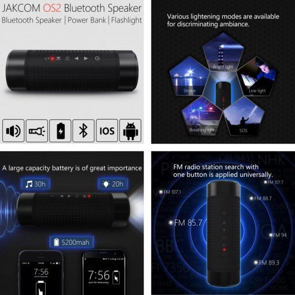 Водонепроницаемый динамик + зарядник + фонарик от JAKCOM