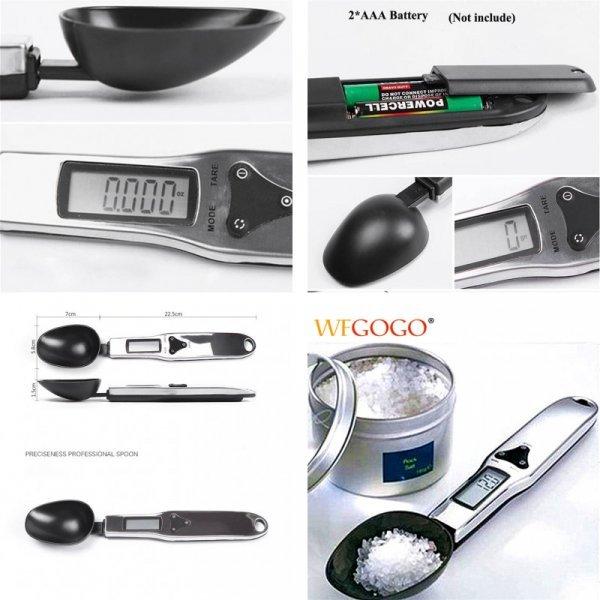 Кухонная мерная ложка-весы WFGOGO