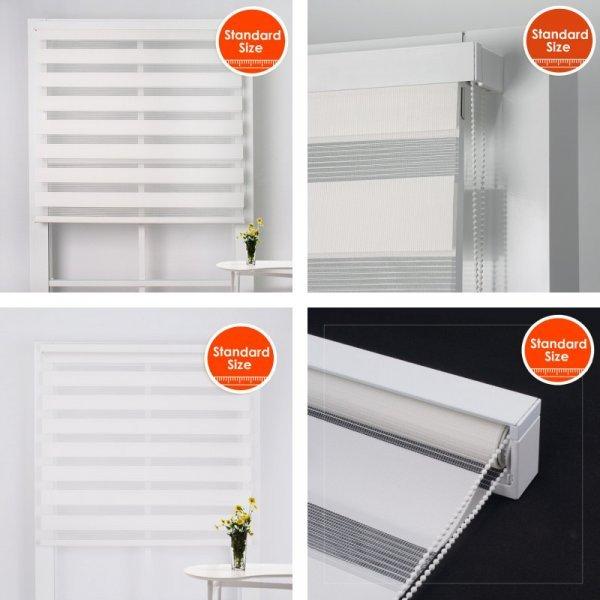 Элегантные рулонные шторы для спальни и кухни SCHRLING (8 цветов, 14 размеров)
