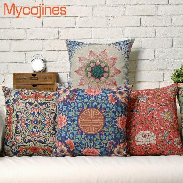 Чехол для подушки в марокканском стиле (5 цветов, 45*45 см)