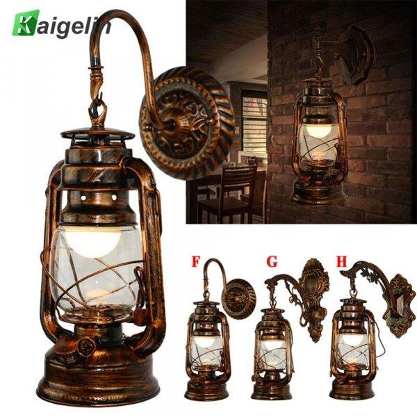 Винтажный настенный светильник 2 в 1 от KAIGELIN(3 вида)