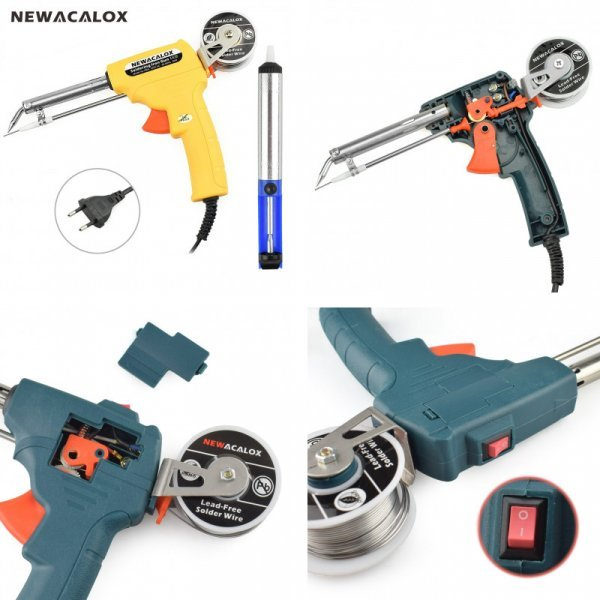 Паяльный пистолет NEWACALOX - выбор профессионалов