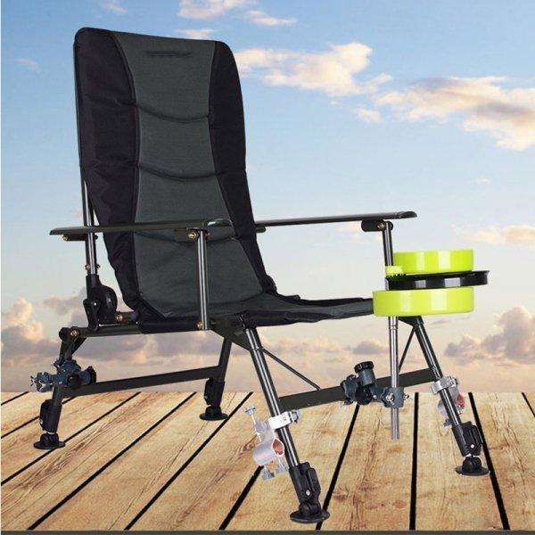 Складное кресло для рыбака от GEOMETRICS DREAM (4 комплектации)