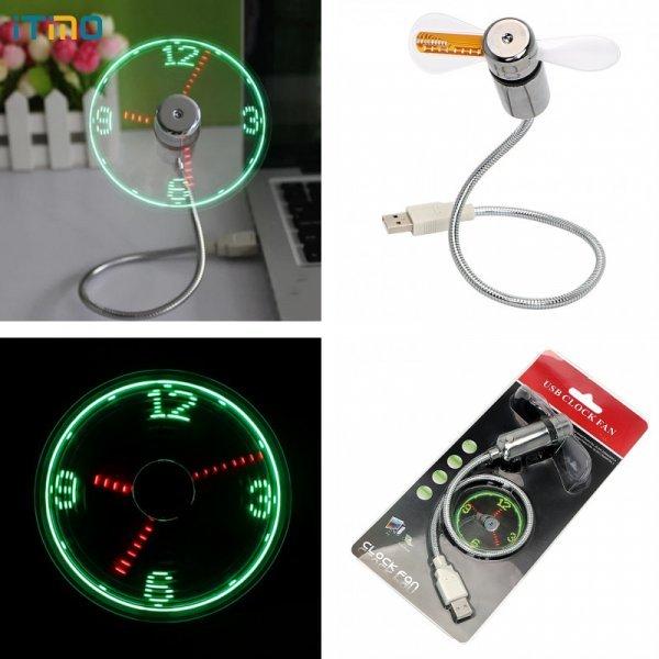 USB часы-вентилятор от ITIMO