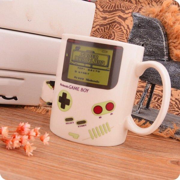 Кружка с жк-дисплеем для кофе