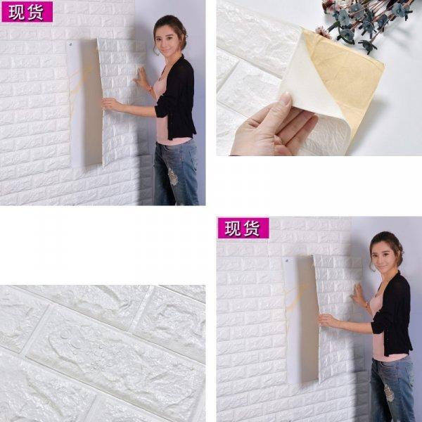 Декоративная 3D панель под кирпич (21 цвет)