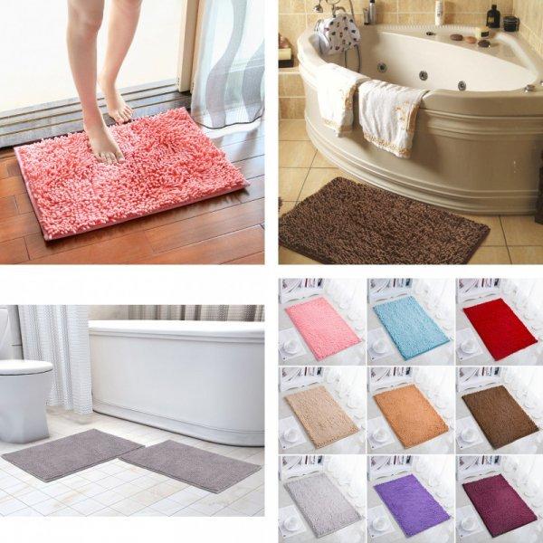 Пушистый нескользящий коврик  FARLEOPARD (10 цветов, 40*50 см, 60*90 см, 50*80 см)