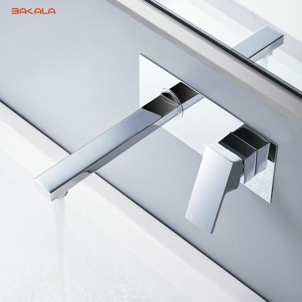 Настенный смеситель для ванны Bakala