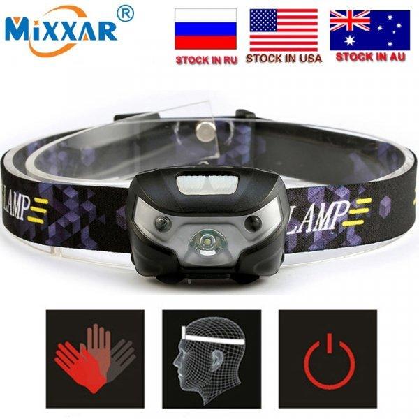Легкий налобный фонарик Mixxar CZK20 (4000Lm)