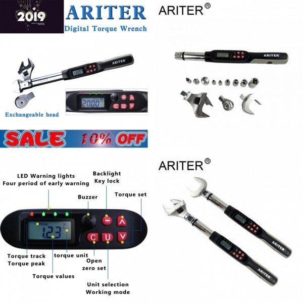 Цифровой динамометрический ключ от ARITER (4 размера)