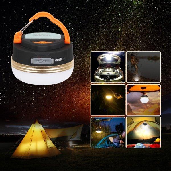 Мощный  кемпинговый фонарь T-SUNRISE (USВ зарядка)