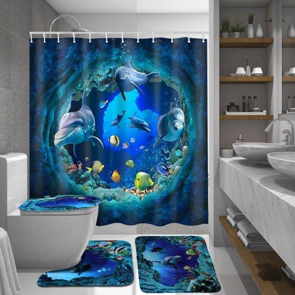 Океанский набор для ванной (в ассортименте)