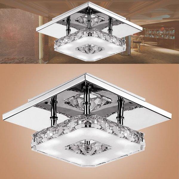 Зеркальный светильник от ELETOROT (21*21 см, 2 цвета)