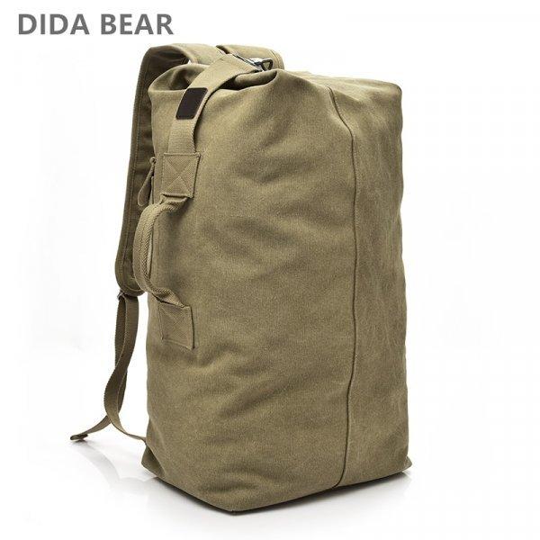 Холщевый рюкзак от DIDA BEAR