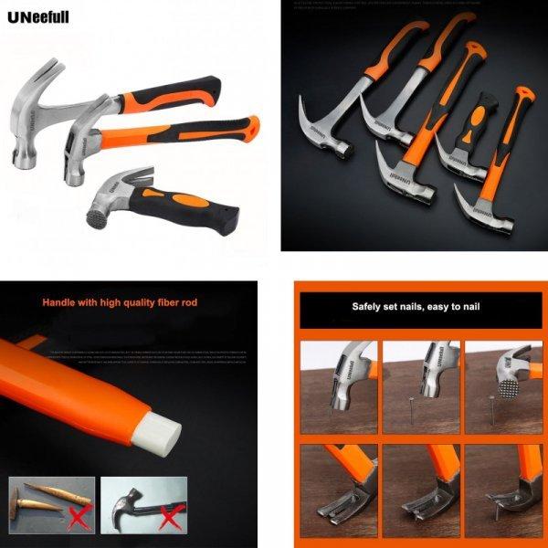 Выбери свой гвоздодер с молотком UNeefull  для ремонта ( 3 варианта)
