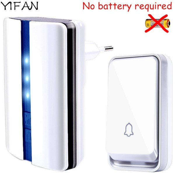 Водонепроницаемый дверной звонок  с автономным питанием от YIFAN