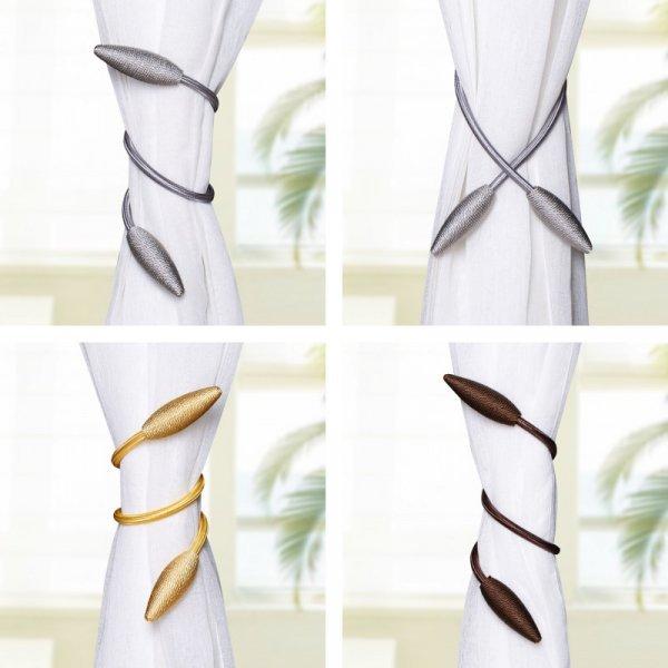 Изысканный зажим для плотных штор  (1 шт, 10 цветов)