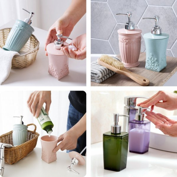 Роскошный дозатор для жидкого мыла Halojaju
