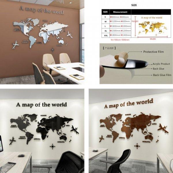 Зеркальная карта мира