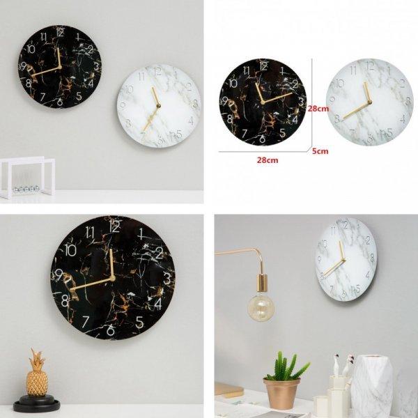 Часы под мрамор