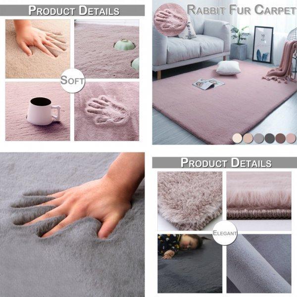 Пушистый ковёр