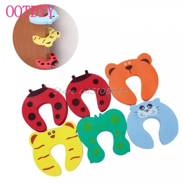 Простое устройство от ущемления пальцев детей и взрослых OOTDTY (6 шт.)