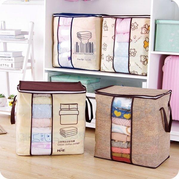 Нетканая сумка для хранения LAZYIHOUSE (4 принта)