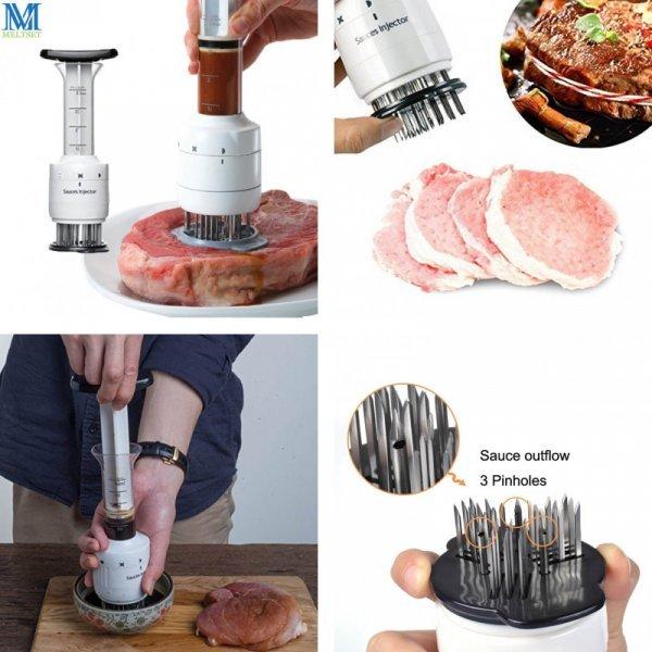 Шприц для пропитки мяса маринадом Meltset (1 шт)