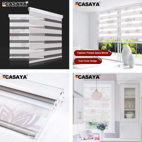Тканевые рулонные шторы от CASAYA