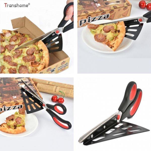 Супер удобные ножницы для пиццы Transhome (2 цвета)