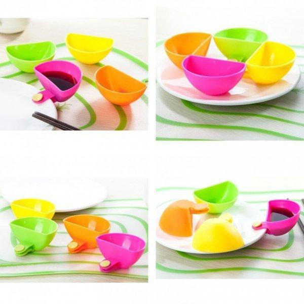 Прищепочки на тарелку для варенья и соуса от VKTECH (4 шт)