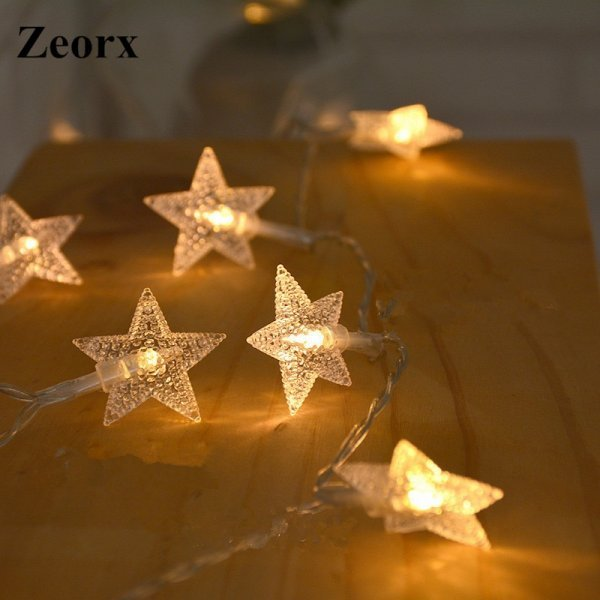 Искрящиеся звезды от ZEORX (1 м, 2 м)