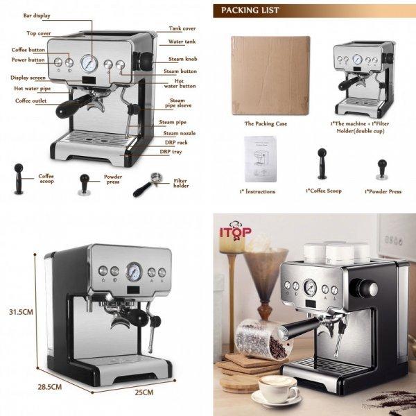 Полуавтоматическая кофе машина от ITOP