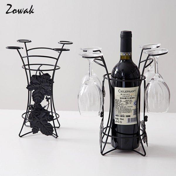 Держатель для бутылки вина и бокалов Zowak (26.5 см)