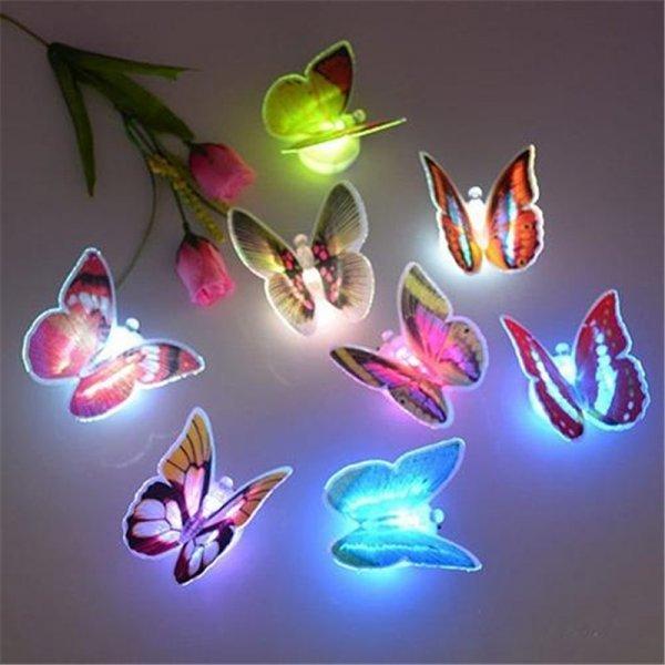 Светодиодный ночник Бабочка от ZOOYOO (1 шт, 7 цветов)