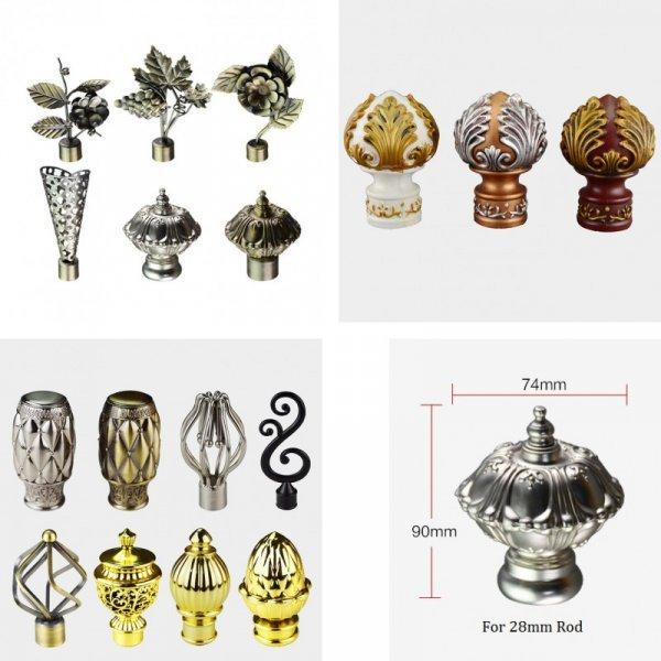 Декоративный колпачек для стандартных карнизов