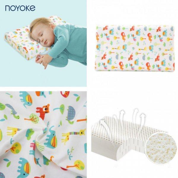 Детская подушка с наволочкой NOYOKE (от 0-12 л, 3 размера)
